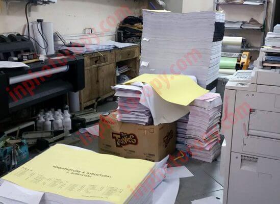 Dịch vụ photocopy khổ lớn - Khổ A0 - A1 - A2 giá rẻ nhất tại Hà Nội