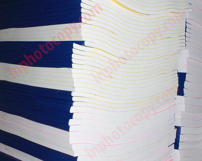 sản phẩm đóng sách đóng ghim dán băng dính