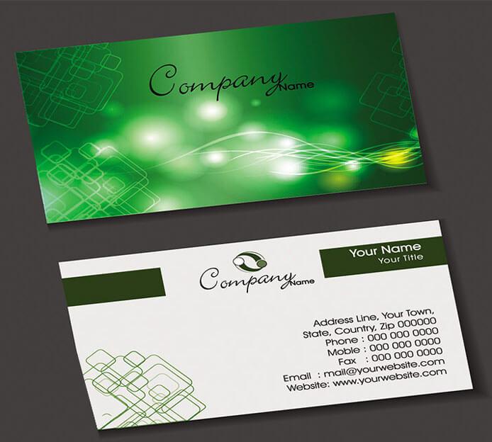 In Card Visit với thiết kế nổi bật