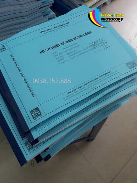 Dịch vụ photocopy giá rẻ - Sách đóng ghim dán băng dính đảm bảo chất lượng với số lượng lớn