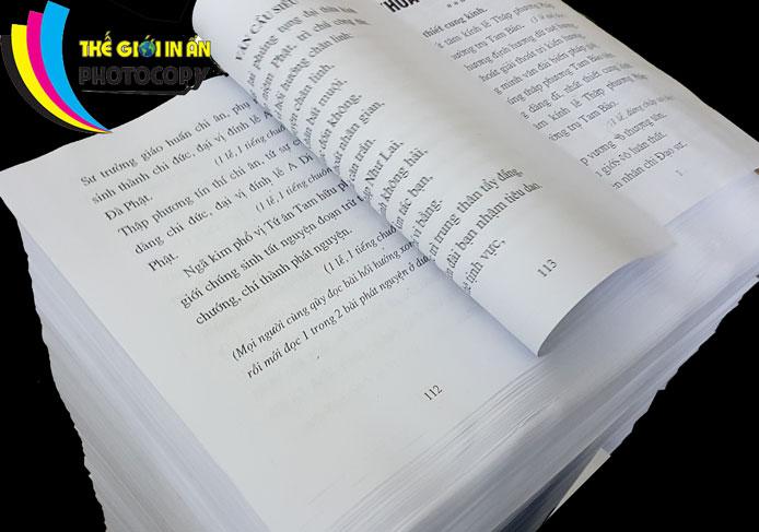 cách vỗ giấy cho bằng sau in