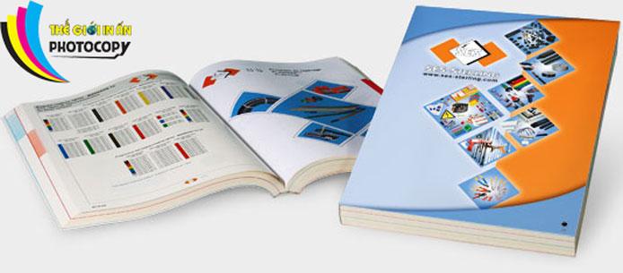 Catalogue đẹp chuyên nghiệp - thế giới in photocopy