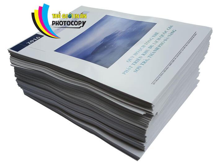 In màu a4 bìa cứng - Sản phẩm Catalogue