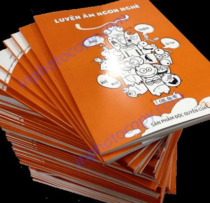 Đóng sách keo nhiệt uy tín đảm bảo chất lượng