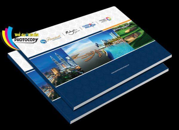 Hình ảnh In Catalogue giá rẻ lấy ngay màu xanh đẹp
