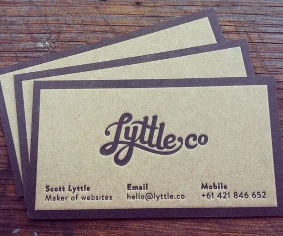 mẫu card visit đẹp màu tím thủy chung giống thiệp mời