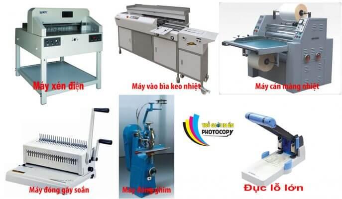 máy gia công sau in thế giới in ấn