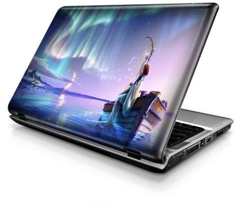 In decal dán laptop