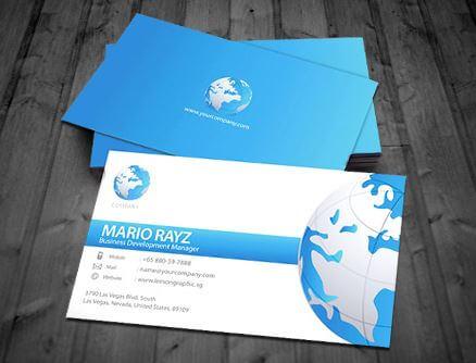 Mẫu card visit sang trọng cho cá nhân, công ty