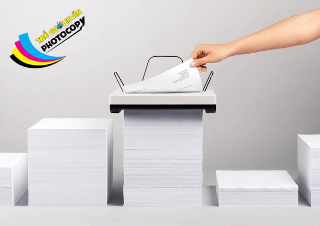 định lượng giấy được tính bằng đơn vị gsm