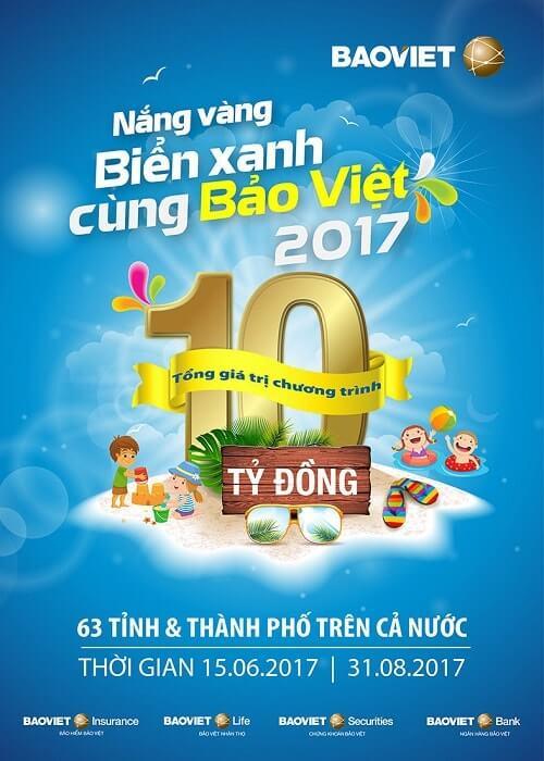 Kích thước Poster quảng cáo của Bảo Việt