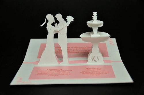 Mẫu thiệp cưới 3D đẹp