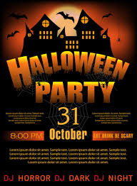 poster halloween party