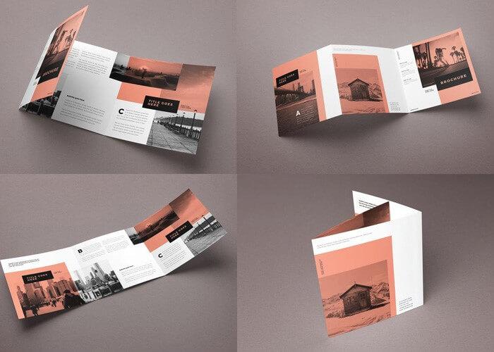 Nội dung, kích thước brochure