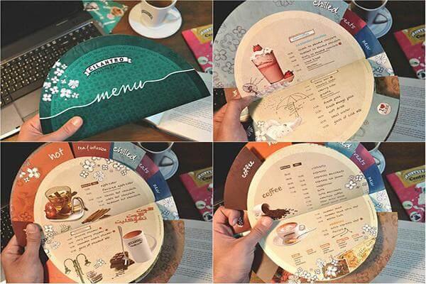 Mẫu in menu cho nhà hàng đẹp & sáng tạo