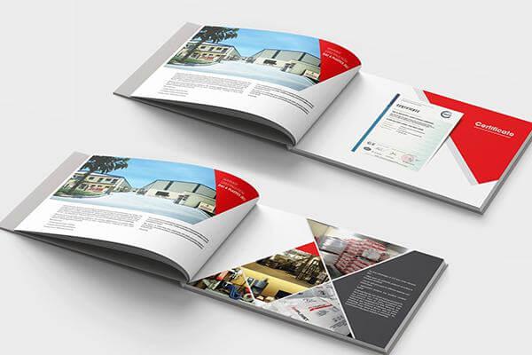 Catalogue A4 khổ ngang