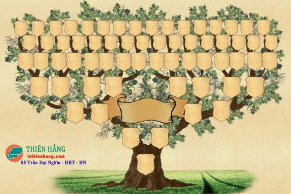 Phả đồ dạng hình cây