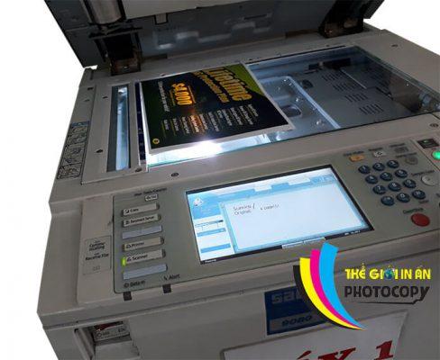 Scan tài liệu bằng máy in tại In Thiên Hằng