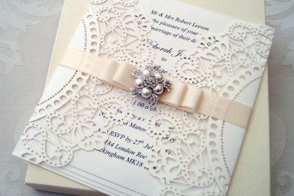 Mẫu thiệp cưới thiết kế đẹp, sang trọng