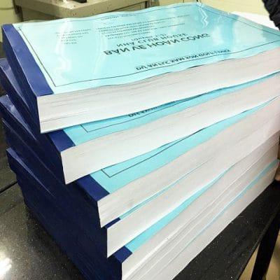 Đóng quyển dập ghim tài liệu dày